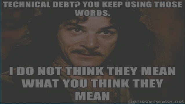 SPR Consulting Technical Debt