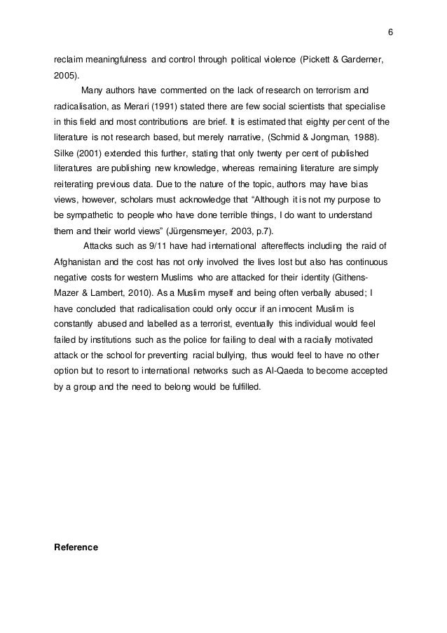 terrorism 4 essay Terrorism - part 4 - terrorism essay example introduction terrorism originates from the word terror which means to coarse or.