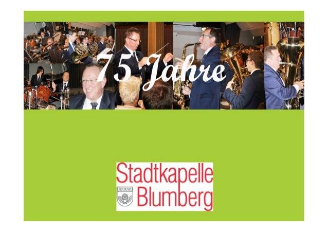 75 Jahre Stadtkapelle Blumberg