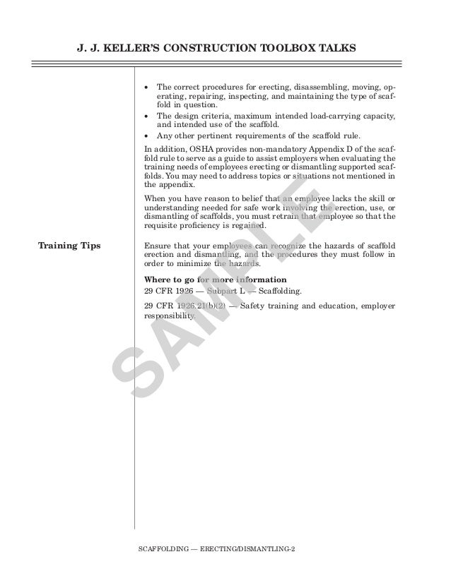 Scaffolding Erecting Procedure : Mscaffolding