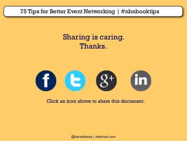 strategies for networking