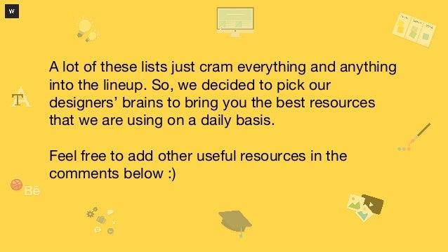 75 of the Smartest Resources for Web Designers Slide 2