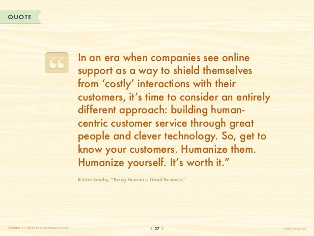 QUOTE                                       In an era when companies see online                                       supp...