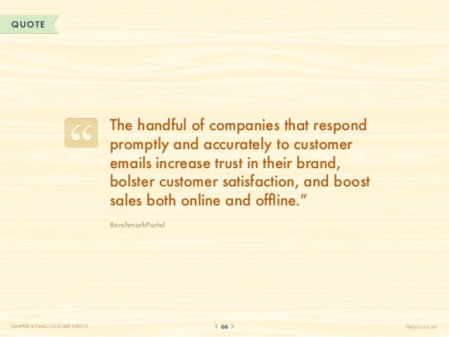 QUOTE                                    T                                     he handful of companies that respond       ...