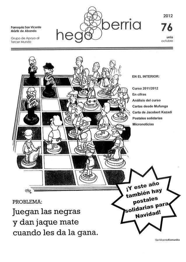 2012   bem Q 7 ¿  Mártir de Abando  Grupo de Apoyo ol i l e 3 g urria  Tercer Mundo octubre                               ...