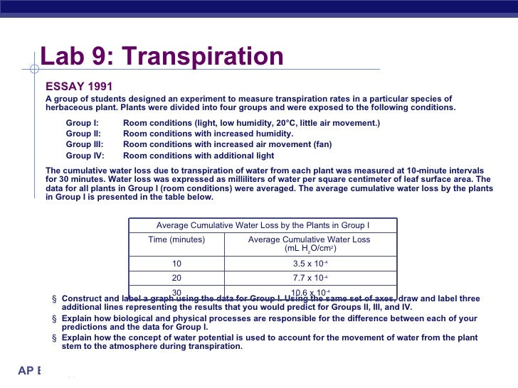 LAB 9 TRANSPIRATION EPUB DOWNLOAD