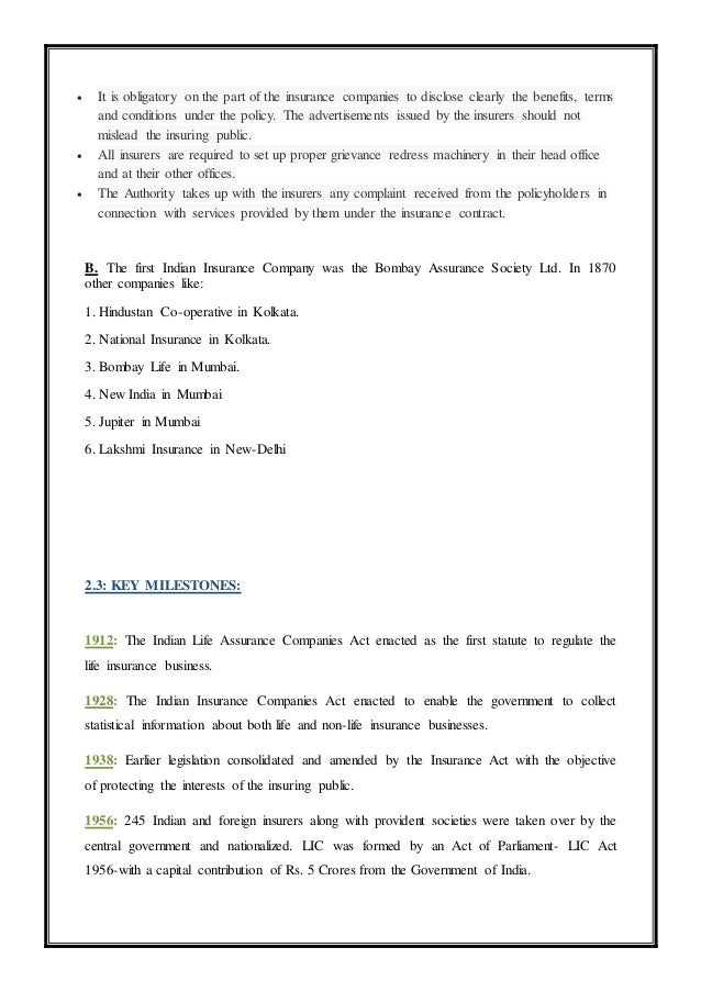 76109382 a project report on bharti axa life insurance co - Bharti axa life insurance head office ...