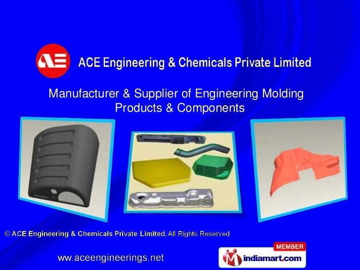 Manufacturer & Supplier of Engineering Molding           Products & Components