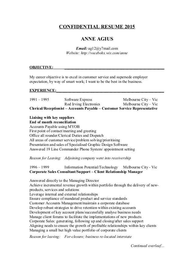 CONFIDENTIAL RESUME - Anne Agius12 Complete Docs