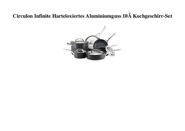 Circulon Infinite Harteloxiertes Aluminiumguss 10� Kochgeschirr-Set