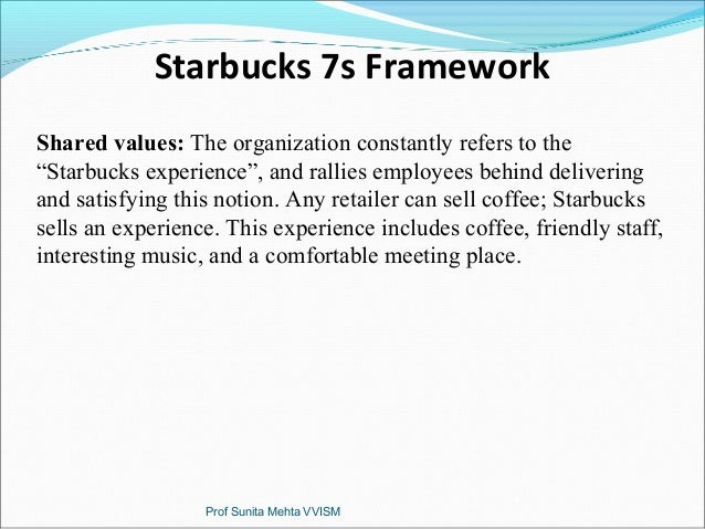 starbucks 7s mckinsey Mckinsey's consumer decision journey mckinsey's consumer  starbucks often  send their customers who have registered a top-up card (these.