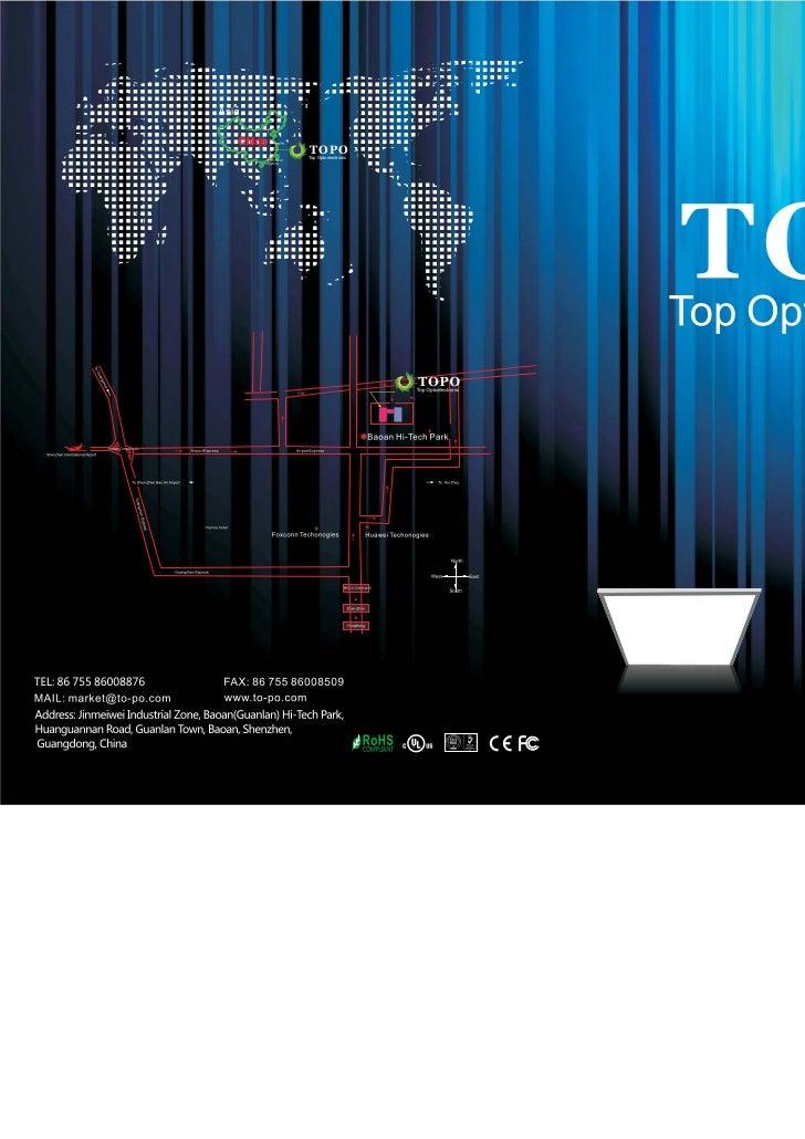 2011 SpringTOPOTop Optoelectronic