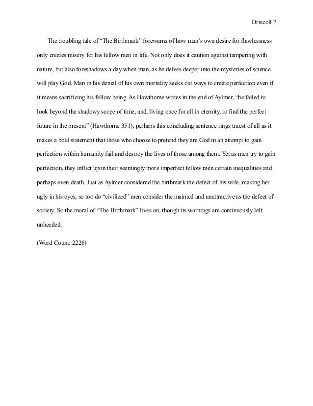 essay iv 7 driscoll 7 the