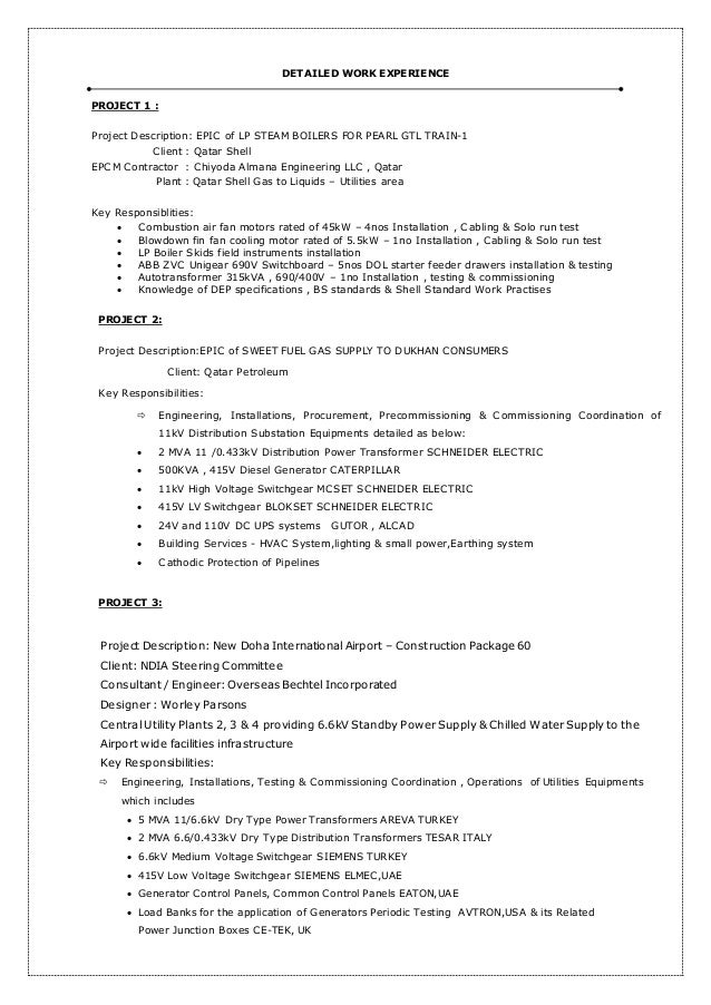 india graduate trainee engineer 2 - Boiler Engineer Sample Resume