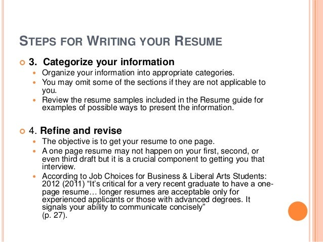 Guide To Create Resume Create Resume Free Online Free Resume And
