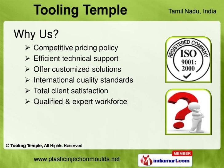 Why Us?    Competitive pricing policy    Efficient technical support    Offer customized solutions    International qu...
