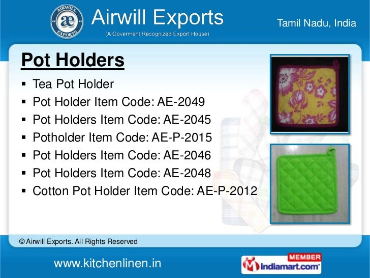 Place Mats by Airwill Exports Karur
