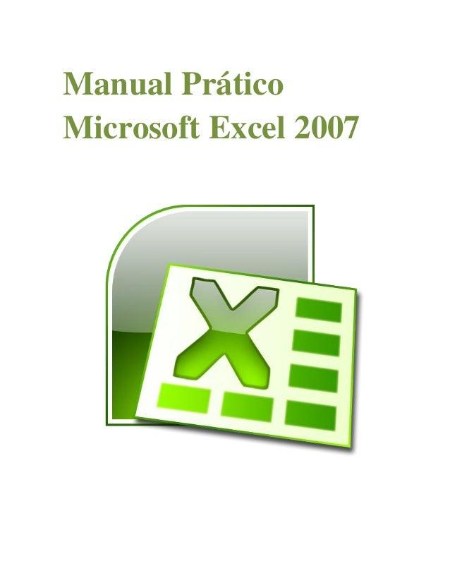 Manual Prático Microsoft Excel 2007
