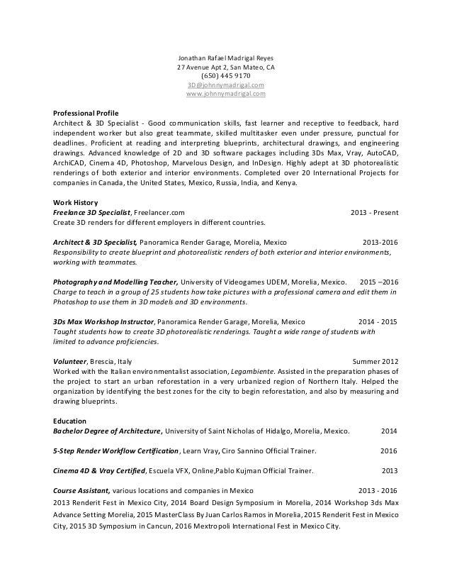 Resume & Portfolio_Jonathan Rafael Madrigal Reyes