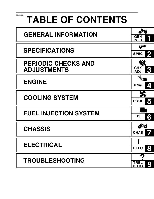 Yahama raptor yfm700rv service manual download manuals & tech.