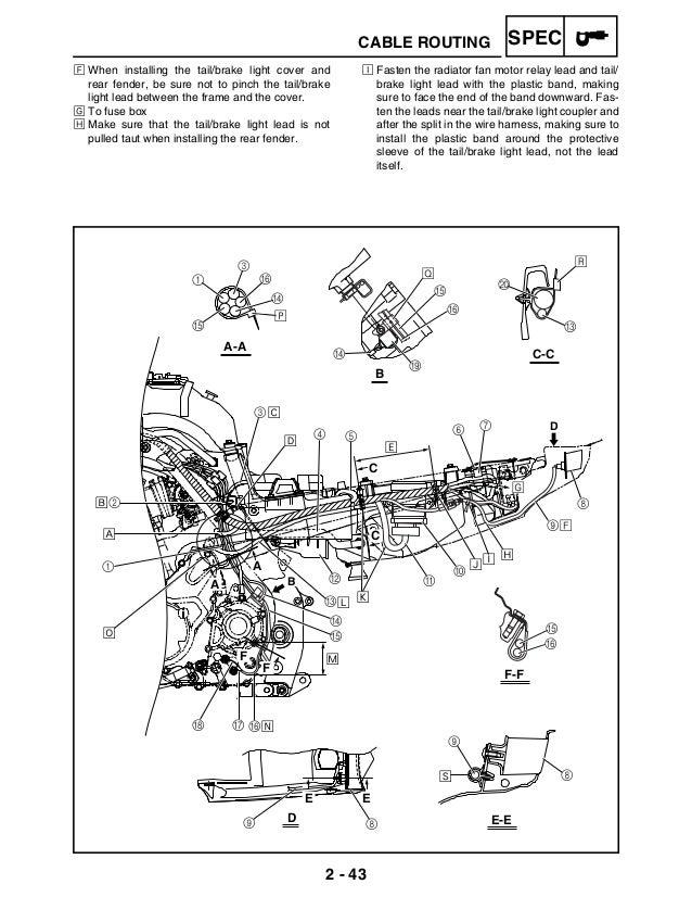 765 1223 raptor 700 service manual rh slideshare net manual yamaha raptor 700 español gratis Yamaha Raptor 1000Cc