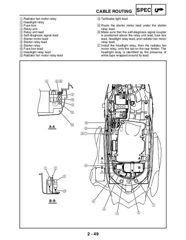 765 1223 raptor 700 service manual rh slideshare net Raptor 700R manual raptor 700 español