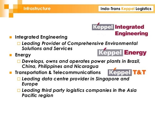 Indo-Trans Keppel LogisticsInfrastructure  Integrated Engineering  Leading Provider of Comprehensive Environmental Solut...