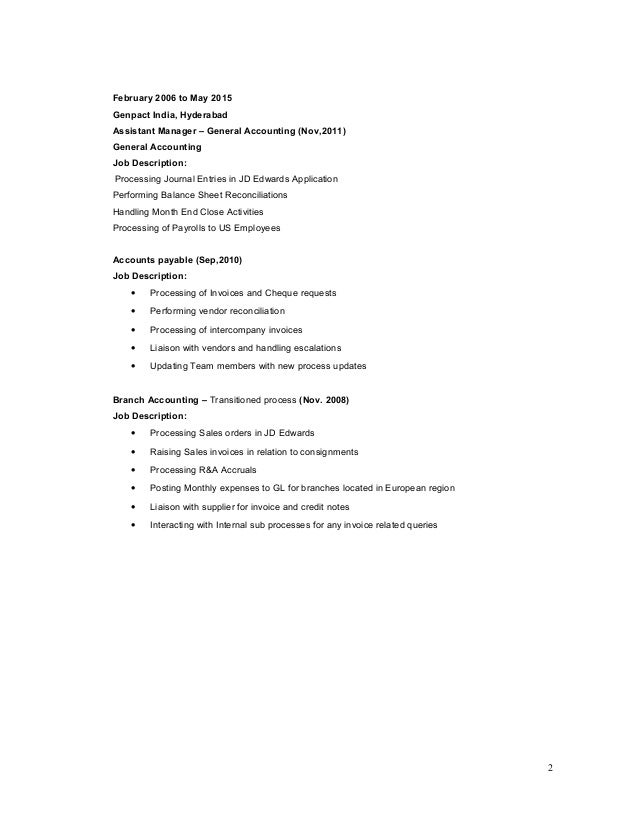 balaji resume