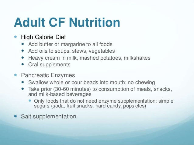 The CF Diet and Fitness