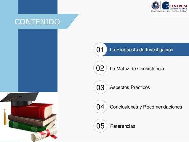 Matriz de Consistencia LUgarelli DBA6 Slide 3