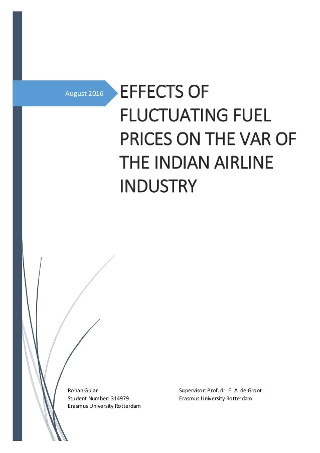 Master thesis airline industry
