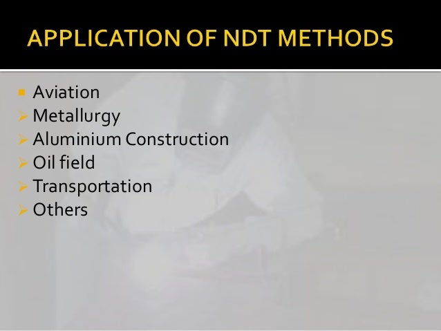 ndt methods ready