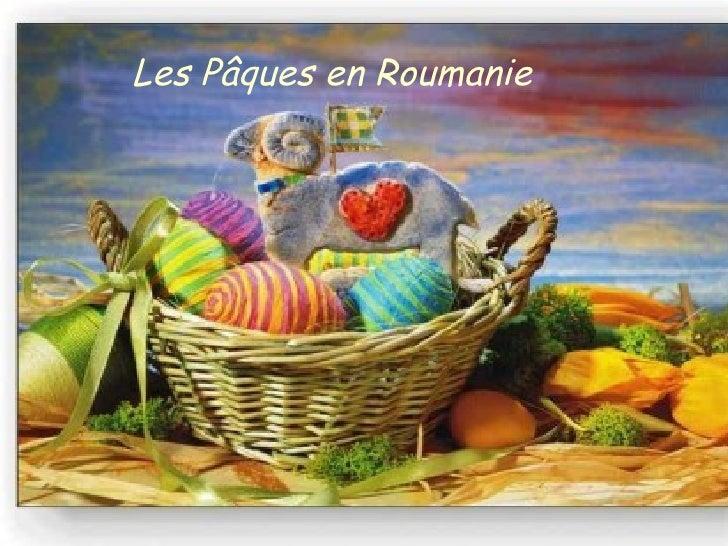 Les Pâques en Roumanie