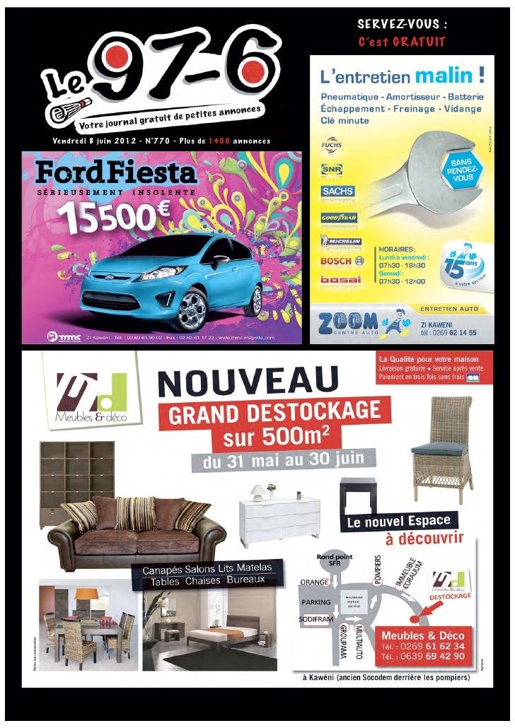 SERVEZ-VOUS :                                                          C'e s t GRATUITVe ndre di 8 juin 2012 - N°770 - Plu...