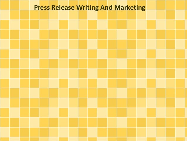 Press Release Writing And Marketing