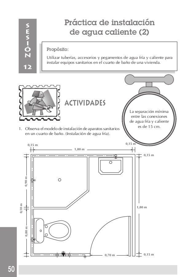 Manual de instalacion sanitaria for Partes de una llave de ducha