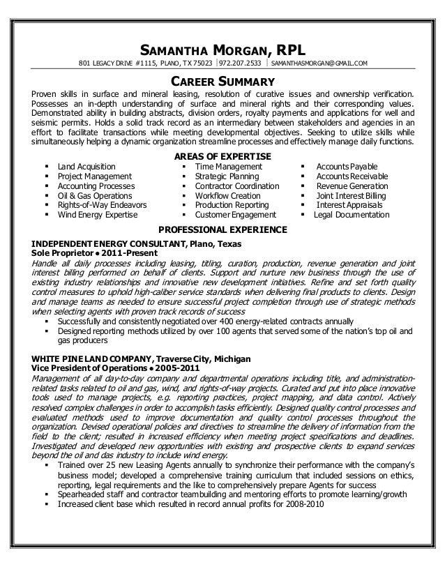 Samantha Morgan - Professional Resume 2015 - FINAL