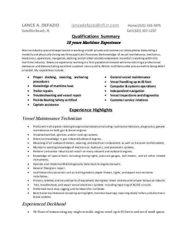 deckhand resume deckhand resume 2 cv deckhand divemaster