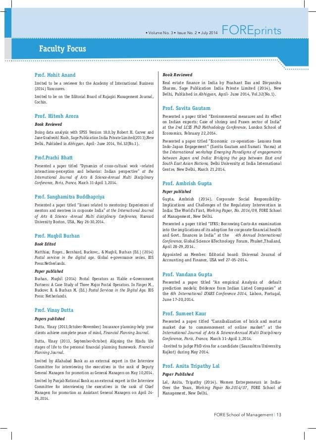 Fore-School-Newsletter - Anubhuti