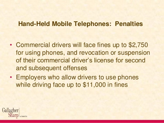 Hand-Held Mobile Telephones Link to Rulemaking http://www.gpo.gov/fdsys/pkg/FR-2011-1202/html/2011-30749.htm