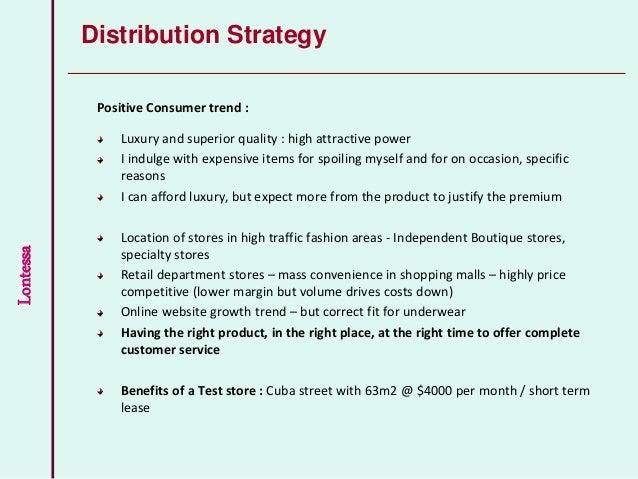 retail business plan template free