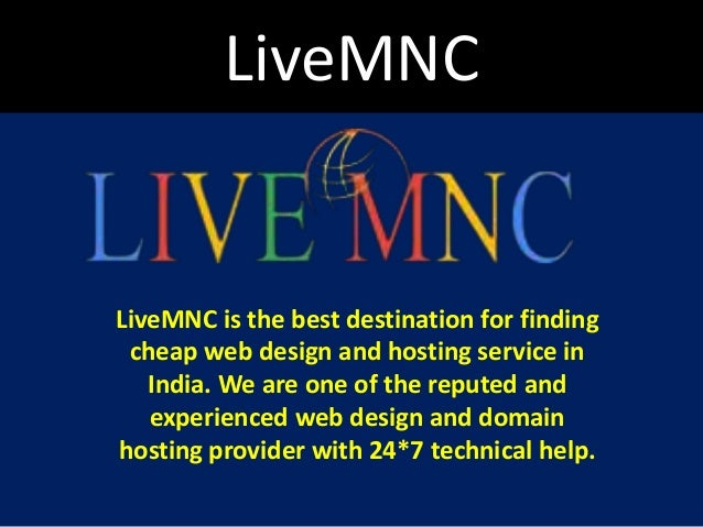 Livemnc Livemnc Is The Best Destination For Finding Cheap Web Design And Hosting Service In India