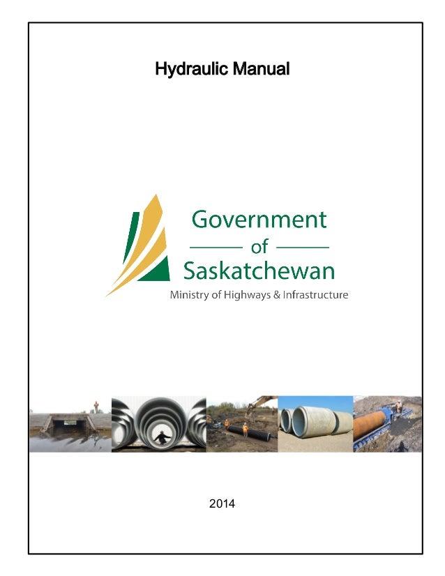 Hydraulic Manual 2013 2014