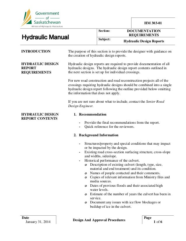 Hydraulic Manual (Dec 2014)