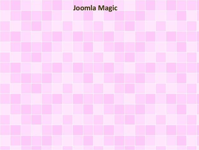 Joomla Magic