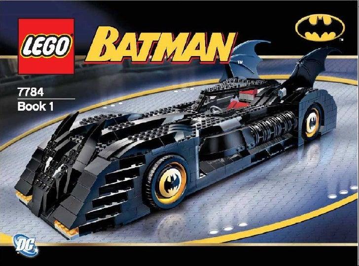 Manual Lego 7784 The Batmobile