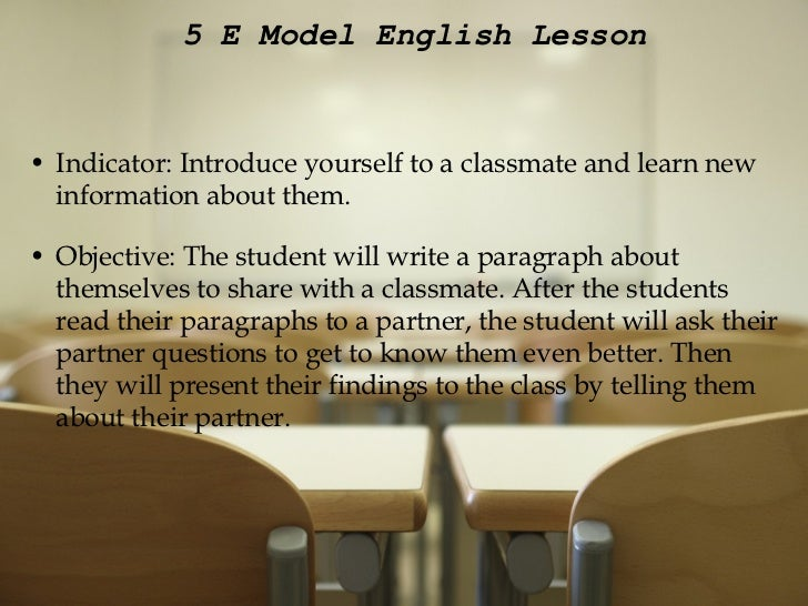 introduce yourself to your classmates essay Admission essays hints: introducing yourself a common question for admission essays is for the candidate to introduce himself or herself to the admission board.