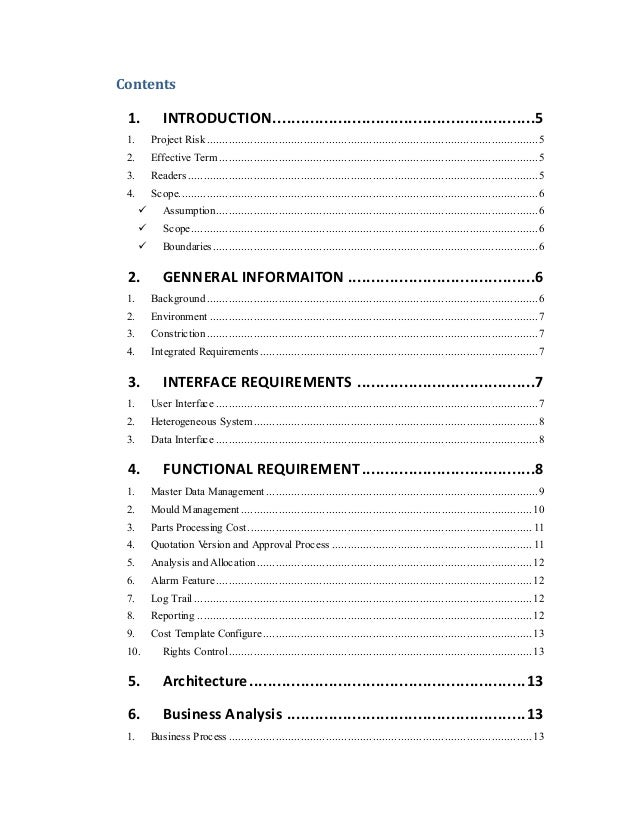 Material Quotation System Functional Requirements Document V6