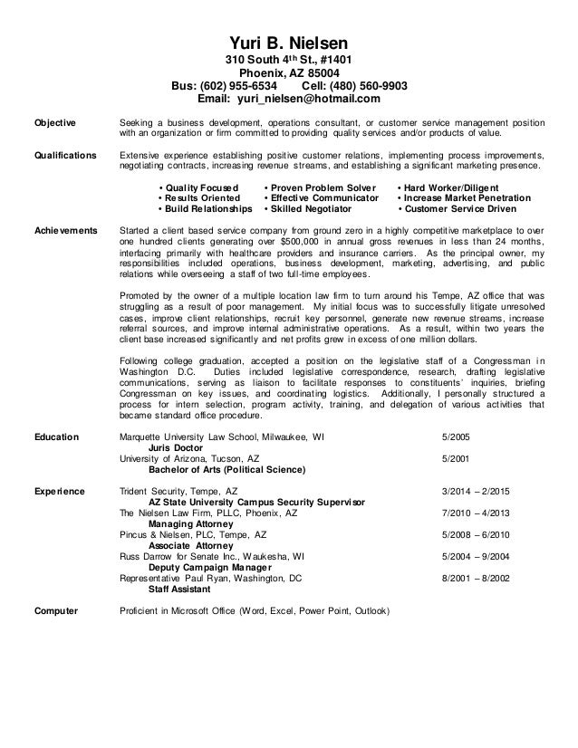 what is the summary in a resumes