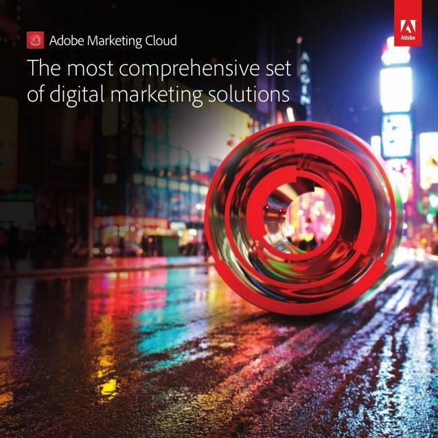 The most comprehensive set ofdigitalmarketing solutions